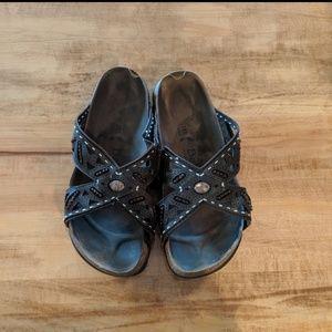 Birkenstock Betula embellished sandal size 41